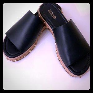 NWOT MK sandals